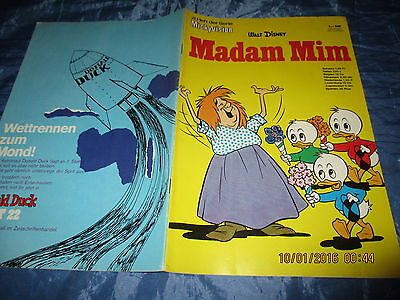 1307 : Mickyvision  Nr. 21 , Walt Disney Comics , Madam Mim , ehapa 1970 // # A