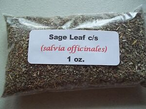 1 oz. Sage Leaf (Salvia officinalis)