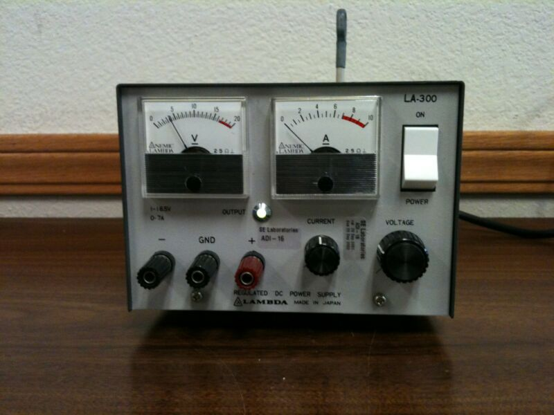 Lambda LA-300 DC Regulated Power Supply