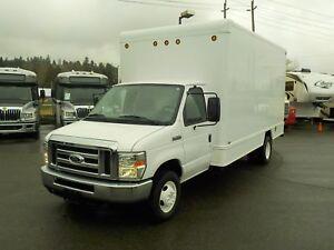 2008 Ford Econoline E-450 16 Foot Dually Cube Van Diesel