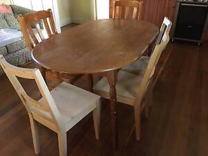 Oval Dining Table & chairs Armidale Armidale City Preview