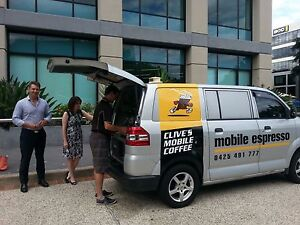 Clive's Mobile Coffee - Coffee Van Brisbane Carindale Brisbane South East Preview