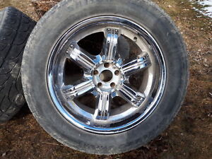 """20"""" ford rims and tires"""