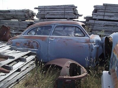 50 Plymouth 2 dr and 4 dr parts car