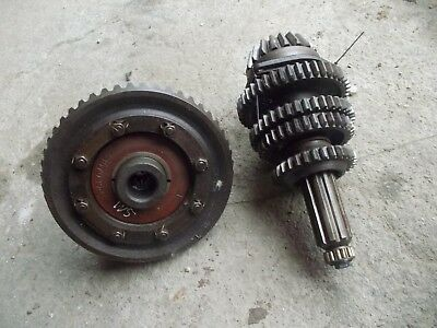 Farmall Sm Mta Tractor Ih Lower Gears Pinion Shaft Ring Gear Assembly Bearing