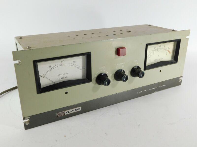 Gate M6659 AM Radio Moduation Monitor (good condition)