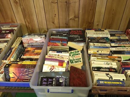 Assorted adult books from 50 cents  to $2 each