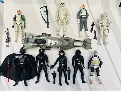 STAR WARS  ACTION  FIGURE LOOSE - IMPERIALS AND CLONES JOBLOT BUNDLE