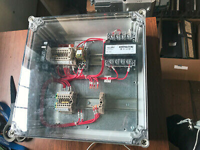 Hoffman Q303013pcicc Industrial Control Panel Enclosure W Parts