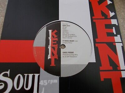 GREG PERRY / JOCELYN BROWN IT TAKES HEART IF I CAN'T HAVE .... 45 NORTHERN SOUL