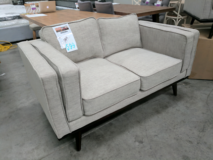 Retro Style 2 Seat Sofa - REDUCED TO CLEAR