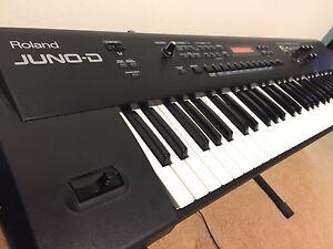 Roland Juno D Limited Edition Synthesizer Hurstville Hurstville Area Preview