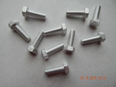 Aluminum Hex Cap Screws  516-18 X 1 10 Pcs. New