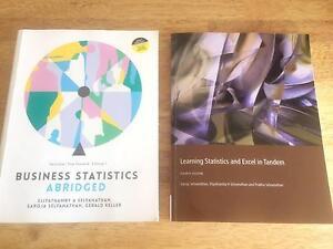 Business Statistics Abridged 7th Excel in Tandem Selvanathan Wynnum Brisbane South East Preview