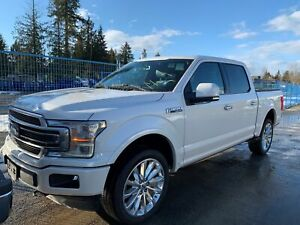 2018 Ford F-150 Limited LOW KMS, ACCIDENT FREE, BC LOCAL