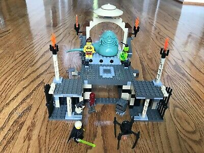 Lego 4480 Star Wars Jabba's Palace 100% complete with instructions & minifigs