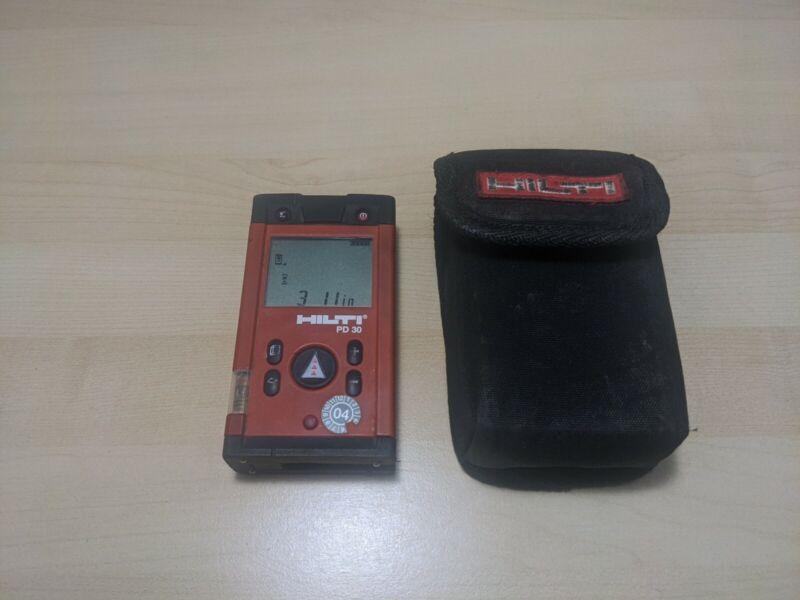 Hilti PD-30 Laser Range Meters Distance Measurer Meter