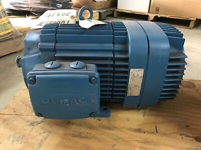 Mannesmann-demag Crane Brake Motor Kba V6 9.1hp Industrial Electric 230460v
