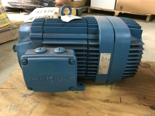 Mannesmann-Demag Crane Brake Motor KBA V6, 9.1HP Industrial Electric, 230/460V