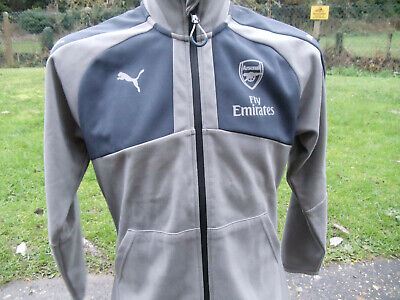 Puma Arsenal Fly Emirates training track top small