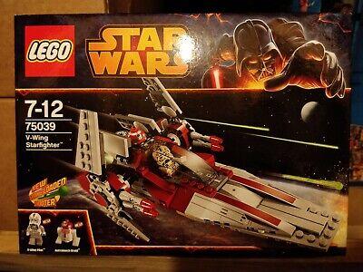 Lego 75039 Star Wars V-Wing Starfighter NEW/SEALED **BNISB**