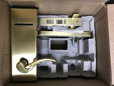 Dormakaba Saflok Mt1 Brass Magnetic Card Lock