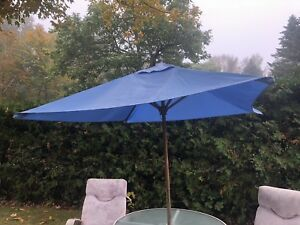 Blue Outdoor Umbrella