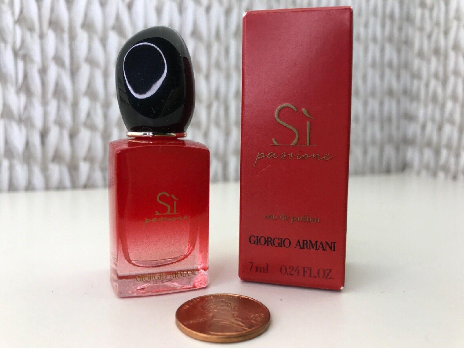 S Passione By GIORGIO ARMANI Women s MINI Perfume EDP Splash 0.24 Oz/ 7 Ml NIB - $18.99