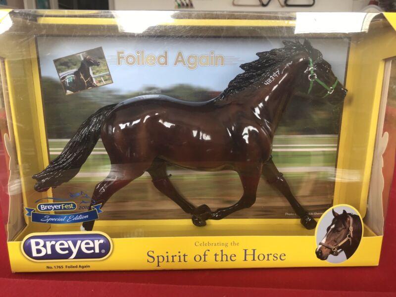 Breyer Glossy FOILED AGAIN