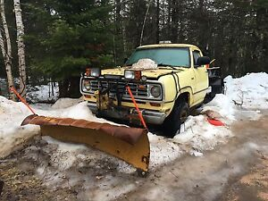 Plow truck one of a kind