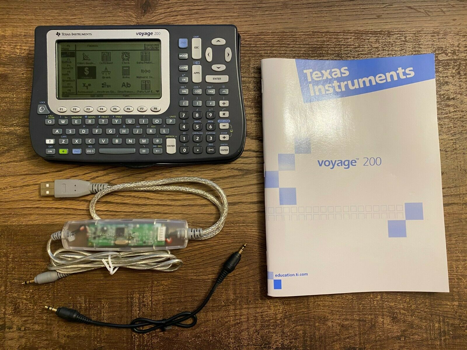Texas Instruments Voyage 200 Graphing Calculator w/ Cover, U