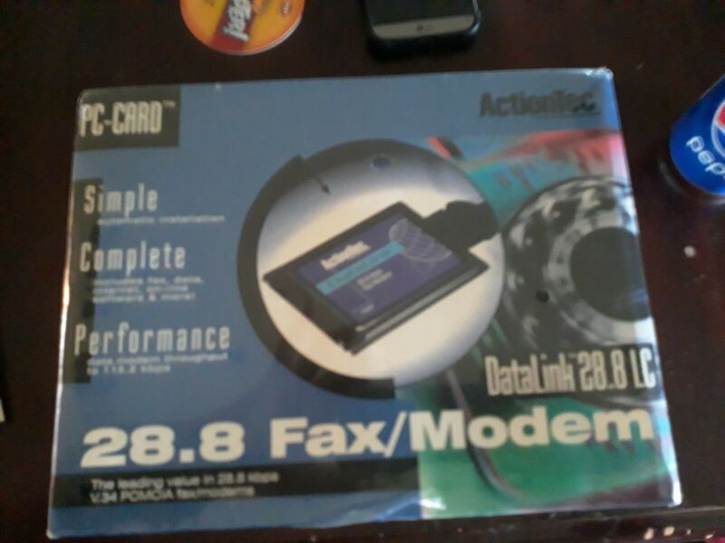 Actiontec 2.8.8 LC datalink fax/modem(pc-card)