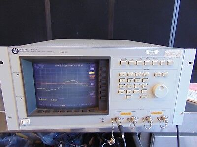 Agilent Hp 54111d Digitizing Oscilloscope 2 Channel 500mhz Tested Good Rh429