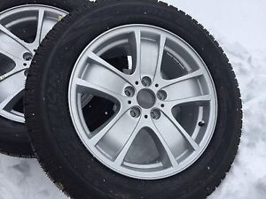 Winter tire package for BMW X5 5x120 bolt pattern
