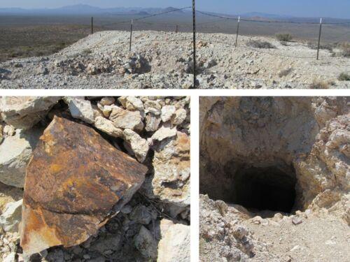 Nevada Gold Silver Gem Mine Lode Mining Claim Shaft Au Ag Beatty NV