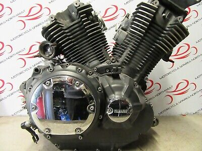 <em>YAMAHA</em> XVS1300 MIDNIGHT STAR 2013 COMPLETE RUNNING ENGINE 20661 MILES