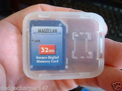 Gps 32mb Sd Card - Original Magellan Meridian Explorist Gps Mapping 32MB SD card