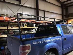 Ladder rack built for 2014 f150 1500 obo