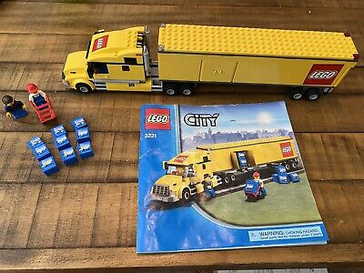 100% Complete !! Lego City Truck (3221)
