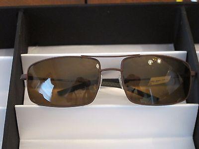 Sama Sunglasses,Bora Bora Sport, Polarized, Brown,  Size 62 NWT Retail $565