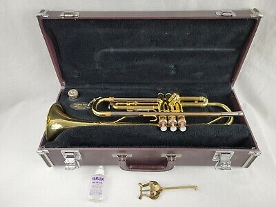 Yamaha Vintage Trumpet YTR 2320 w/Case & Mouthpiece NEEDS CLEANING & SERVICING