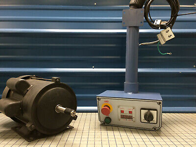Oliver Machinery Spindle Motor With Control Stand And Sensors
