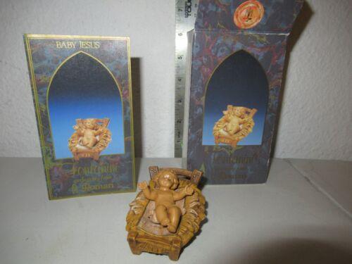 Fontanini Baby Jesus 5 inch scale NICE Nativity with box
