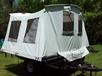 Jumping Jack Trailers jump up tent trailer, NEW DISPLAY MODEL, 6x8, ATV