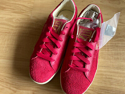 ALEXANDER MCQUEEN (AMQ) X PUMA Tabaka / Rose Red Suede TRAINERS UK 5 EUR 38