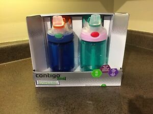 New In Box Contigo Kids Water Bottles