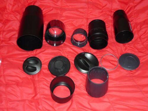 Five (5) Telescope Objective Lenses Refractor