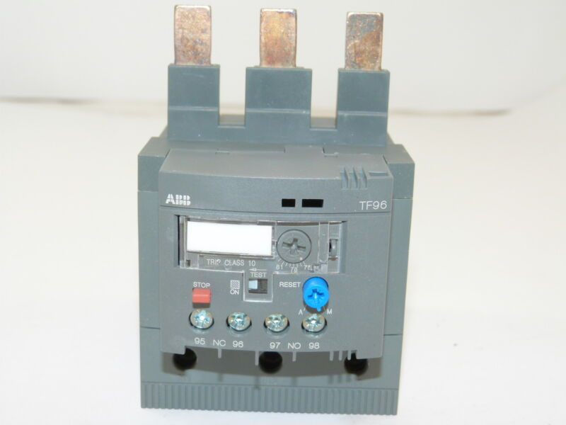 ABB TF96-87 Thermal Overload Relay 75-87a NEW 1yr Warranty