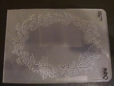 Sizzix Large Embossing Folder LONE LEAF TREE fits Big Shot Cuttlebug 4.5x5.75in