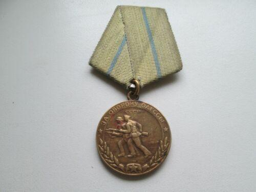Original medal for the defence of Odessa RRR